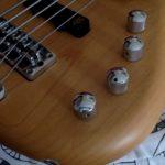 指板上の全音一覧 5弦ベース対応版
